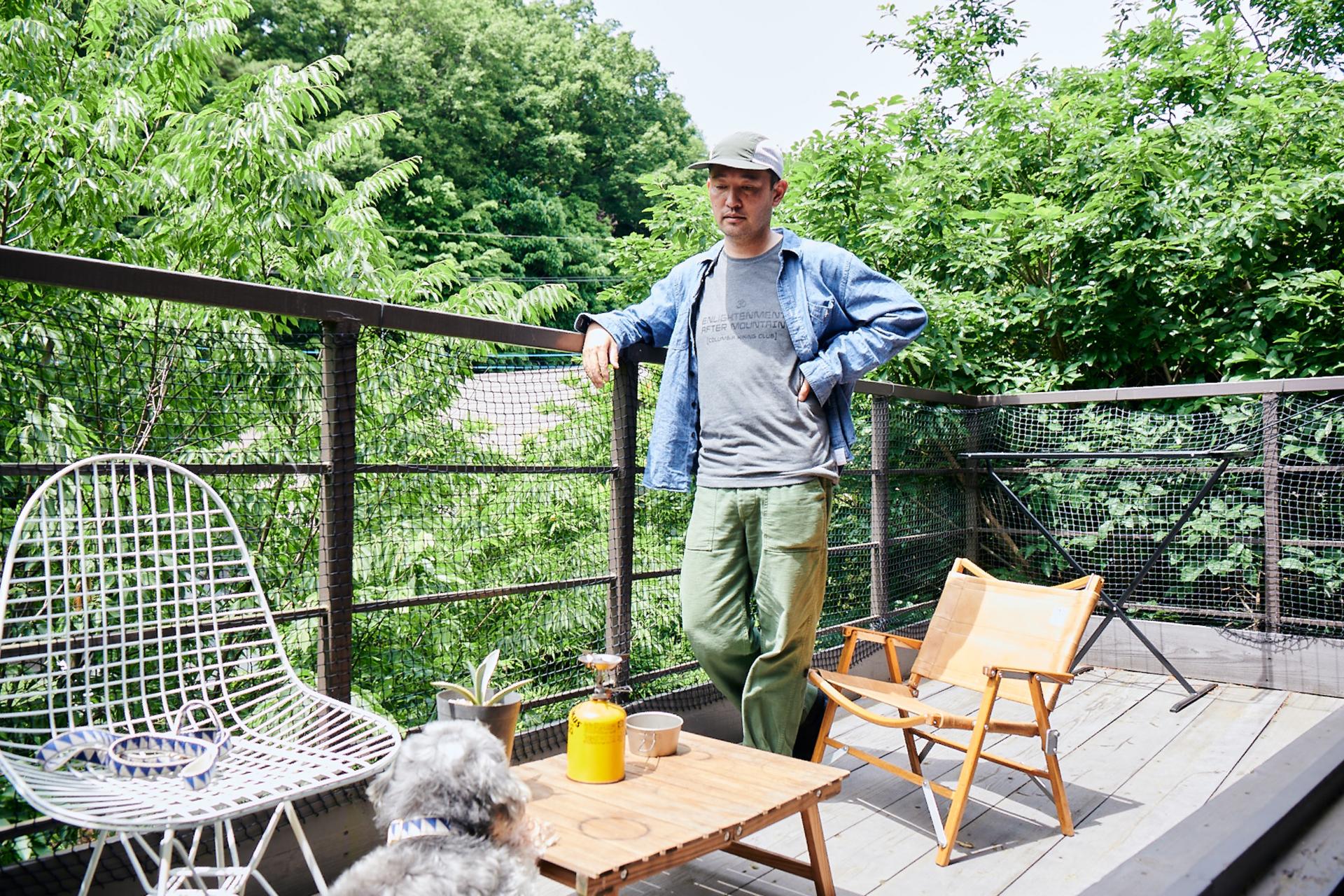 2-1 自然とともに暮らす、ジェリー鵜飼のアウトドアなライフスタイル