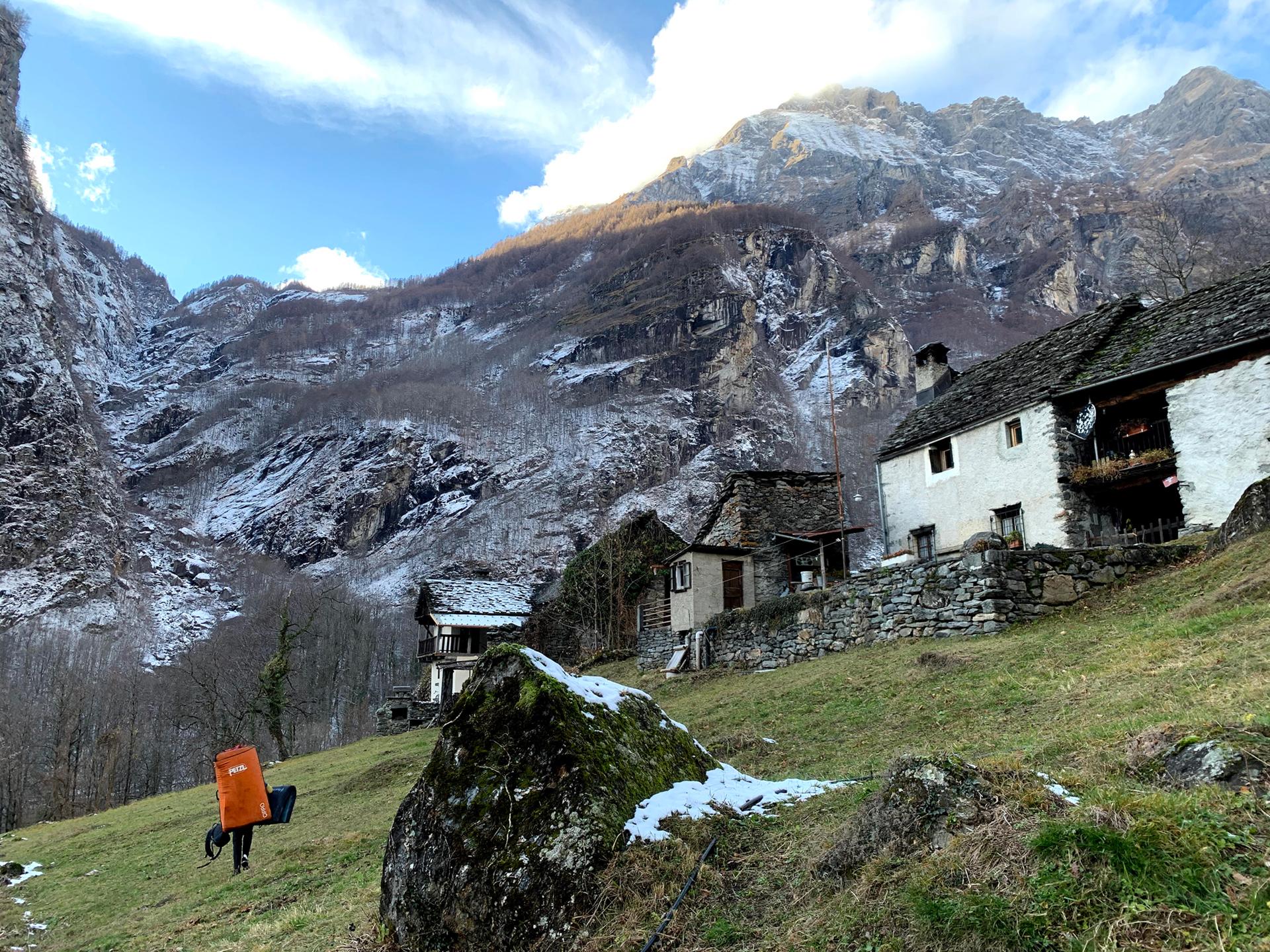 4 世界を翔けるロッククライマー・一宮大介のスイス遠征記