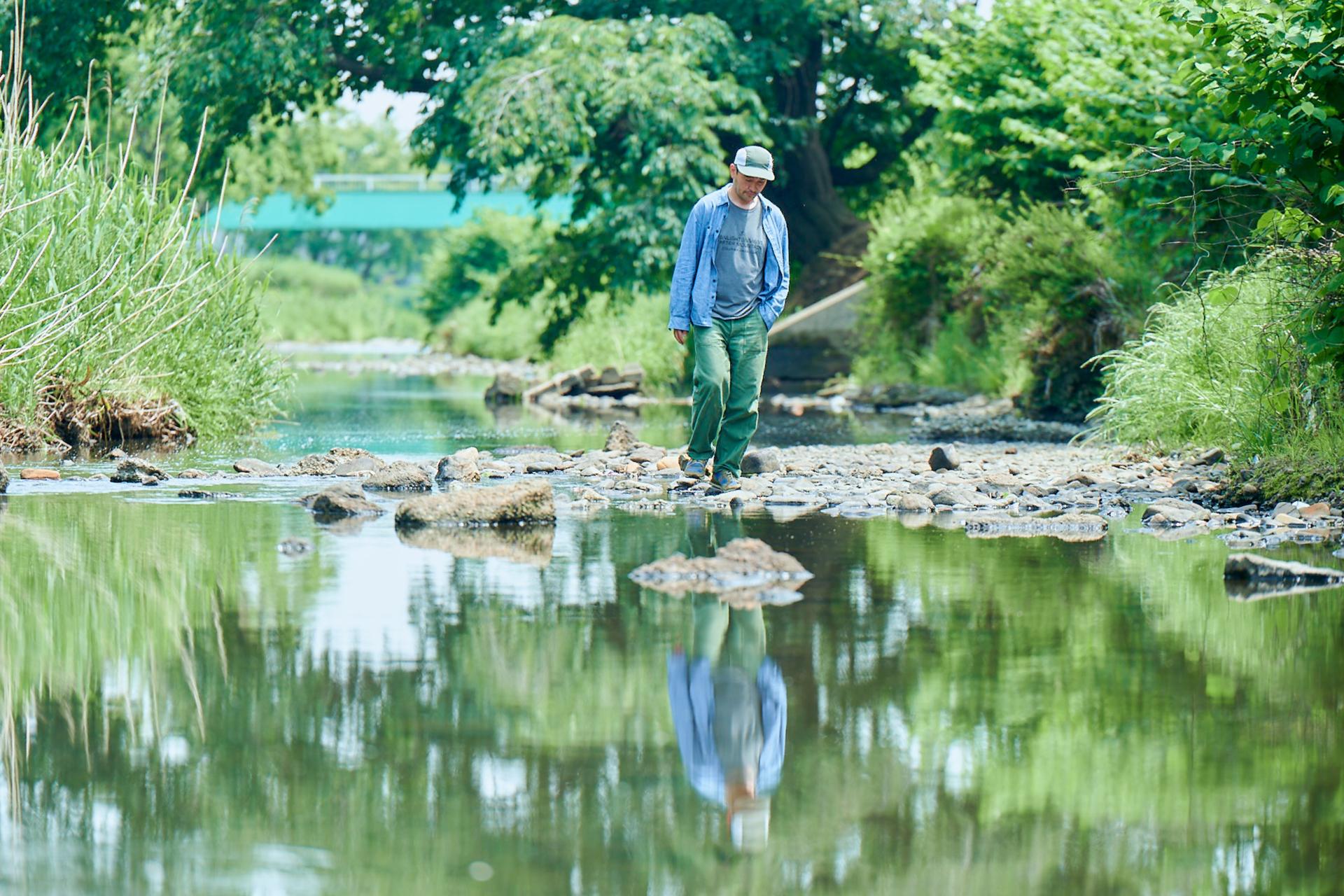 5-1 自然とともに暮らす、ジェリー鵜飼のアウトドアなライフスタイル