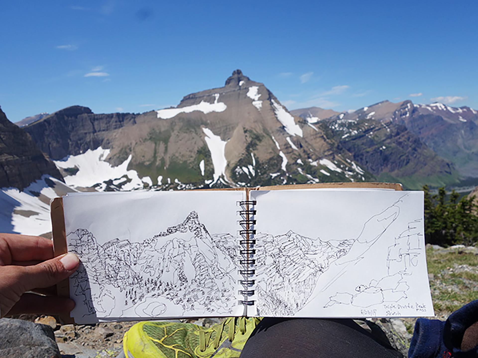 13-3 トリプルクラウナー/イラストレーター・河戸良佑氏インタビュー<br>〜ロングトレイルに必要な才能と、『アリガト山』への思い〜