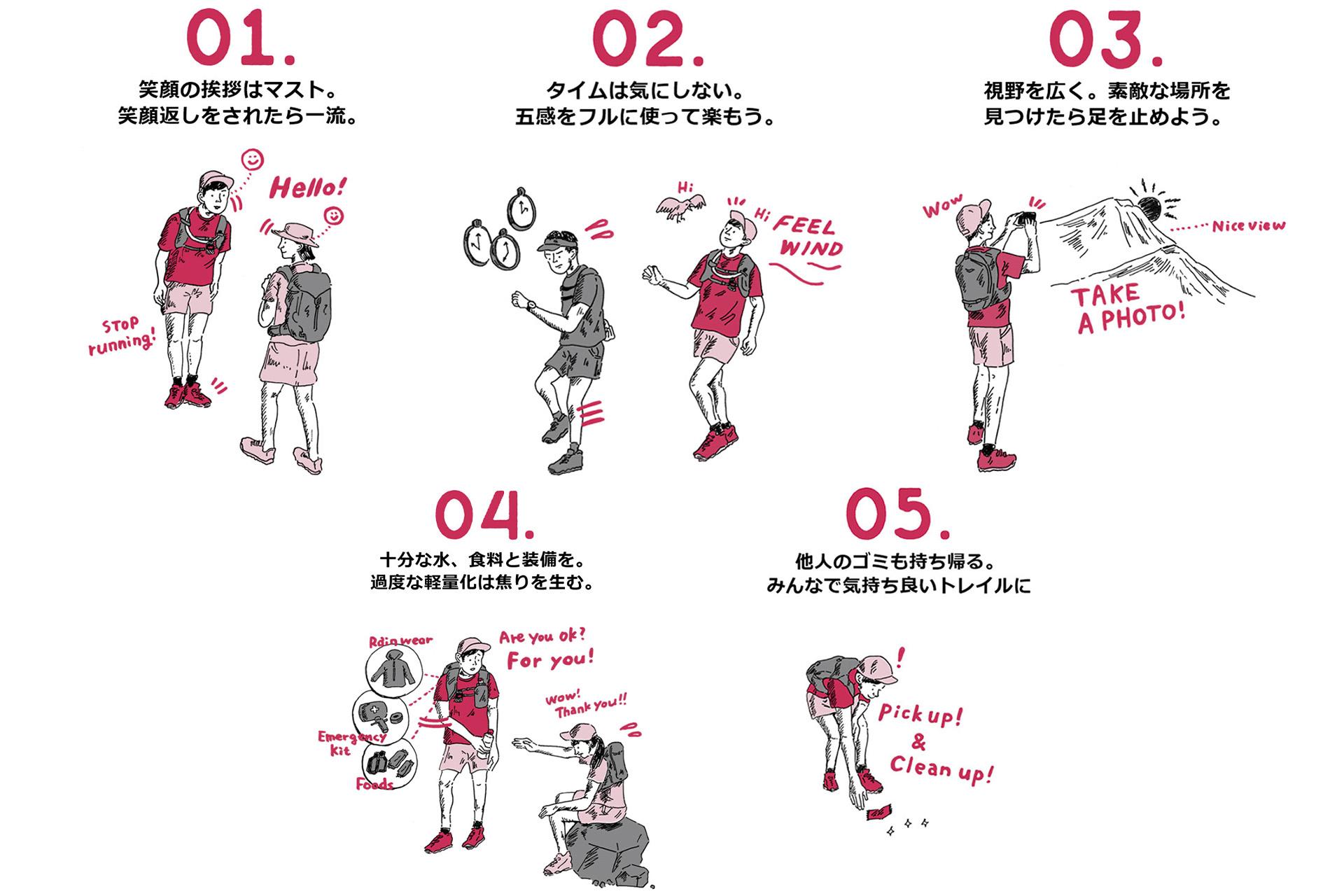 9-4 トリプルクラウナー/イラストレーター・河戸良佑氏インタビュー<br>〜ロングトレイルに必要な才能と、『アリガト山』への思い〜
